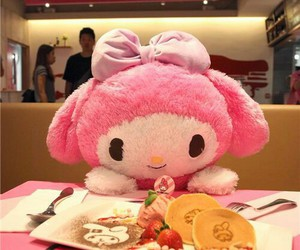 food, my melody, and yummy image