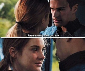 couples, movie, and divergent image