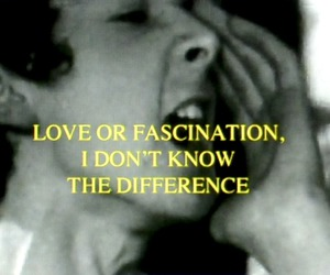 love, quote, and fascination image