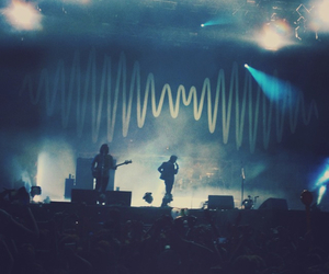 arctic monkeys and concert image