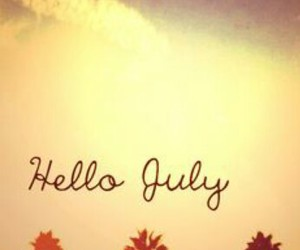 july and hello image
