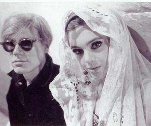 edie sedgwick and andy warhol image