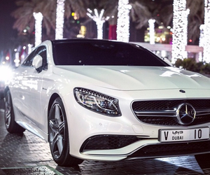 car, mercedes, and fancy image
