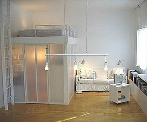 white, design, and bedroom image