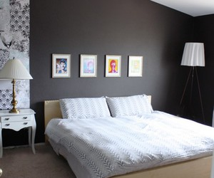 architecture, modern, and bed image