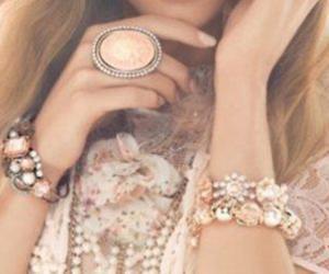 fashion, ring, and bracelet image