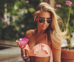blonde, fashion, and tan image