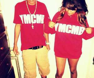 ymcmb, couple, and swag image