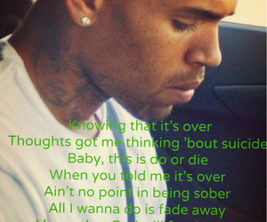 chris brown, guy, and hurt image