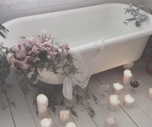 bath, grunge, and pale image