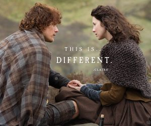 outlander and jamie fraser image