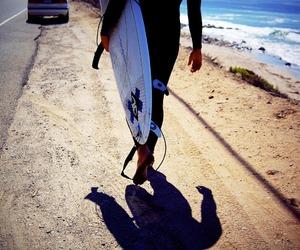 beach, boy, and guy image