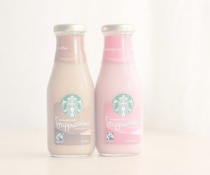 starbucks, pastel, and coffee image