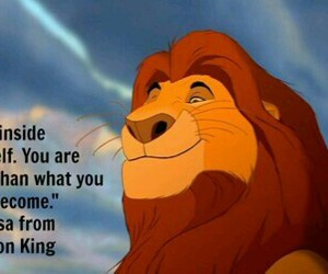 quote, mufasa, and disney image
