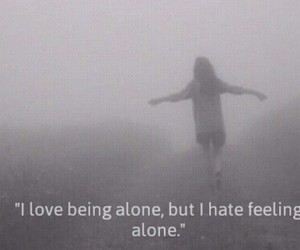 alone, Darkness, and grunge image