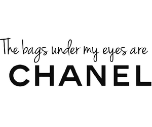 chanel, quote, and bag image