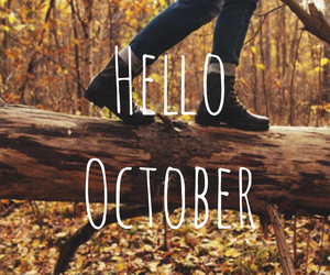 forets, october, and shoes image