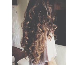 hair, curls, and fashion image