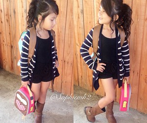 baby, girl, and outfit image
