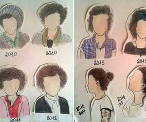 hair, style, and Harry Styles image