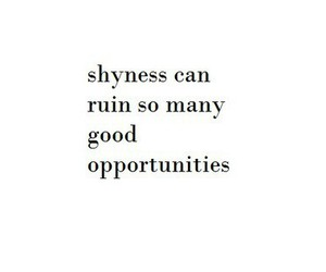 quote, shyness, and shy image