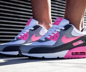 nike, air max, and pink image