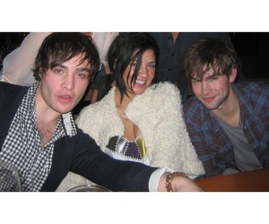 Chace Crawford, chuck bass, and ed westwick image