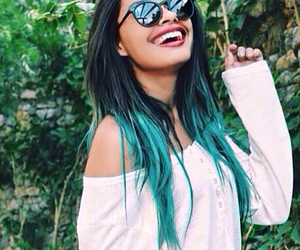 amazing, colored hair, and daylight image