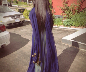 long hair, eid 2014, and brown dress up image