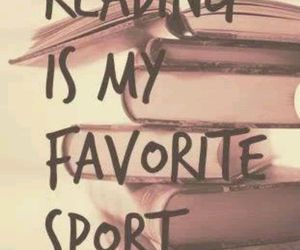 book, reading, and sport image