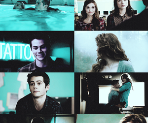teen wolf, blue, and holland roden image