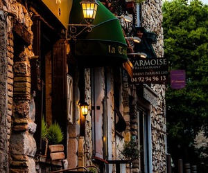 street, france, and travel image