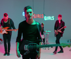 girls, the 1975, and matty healy image
