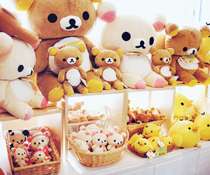 cute, rilakkuma, and bear image