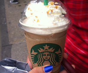 frappuccino, london, and caramel image