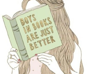 book and boys image