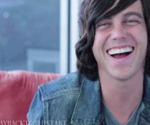 kellin quinn, sleeping with sirens, and smile image
