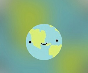 world and smile image