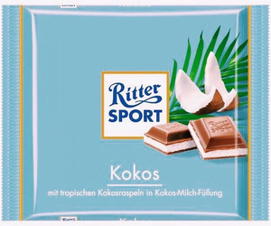 chocolate, rittersport, and girls loveit image