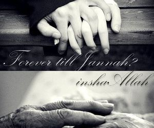 love, couple, and jannah image
