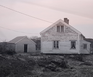 house, out, and white image