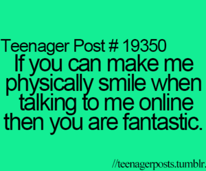 smile, teenager post, and online image