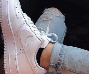carefree, girl, and sneakers image