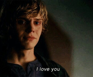 american horror story, love, and evan peters image