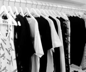 fashion, boy london, and black and white image