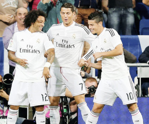 real madrid, smile, and cr7 image