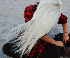 awesome, hairspiration, and beach image