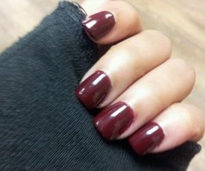 fake nails, fall, and nails image