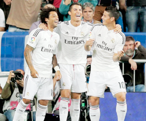 real madrid, marcelo, and cristiano ronaldo image