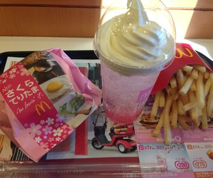food, japan, and McDonalds image